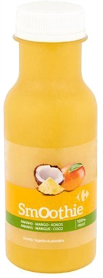 CARREFOUR Smoothie ananas mangue coco