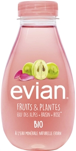 EVIAN Raisin rose