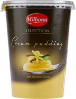 MILBONA (LIDL) Cream Pudding Selection avec bourbon vanille 500g