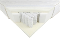 SELECT BY BETER BED GOLD POCKET DELUXE VISCO