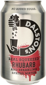 DALSTON'S Rhubarb and sparkling water