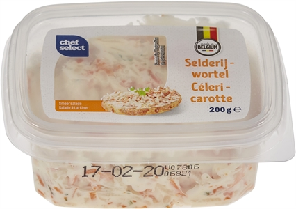 CHEF SELECT (LIDL) CÉLERI - CAROTTE