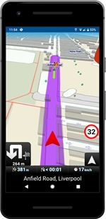 MAPFACTOR GPS Navigation Maps (Android)