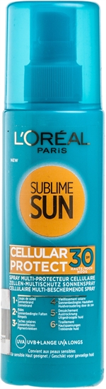 L'OREAL PARIS Sublime sun - cellular protect spray | Crèmes solaires