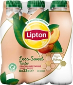 LIPTON Ice tea less sweet peach & nectarine