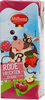 MILBONA (LIDL) Lait goût fruits rouges