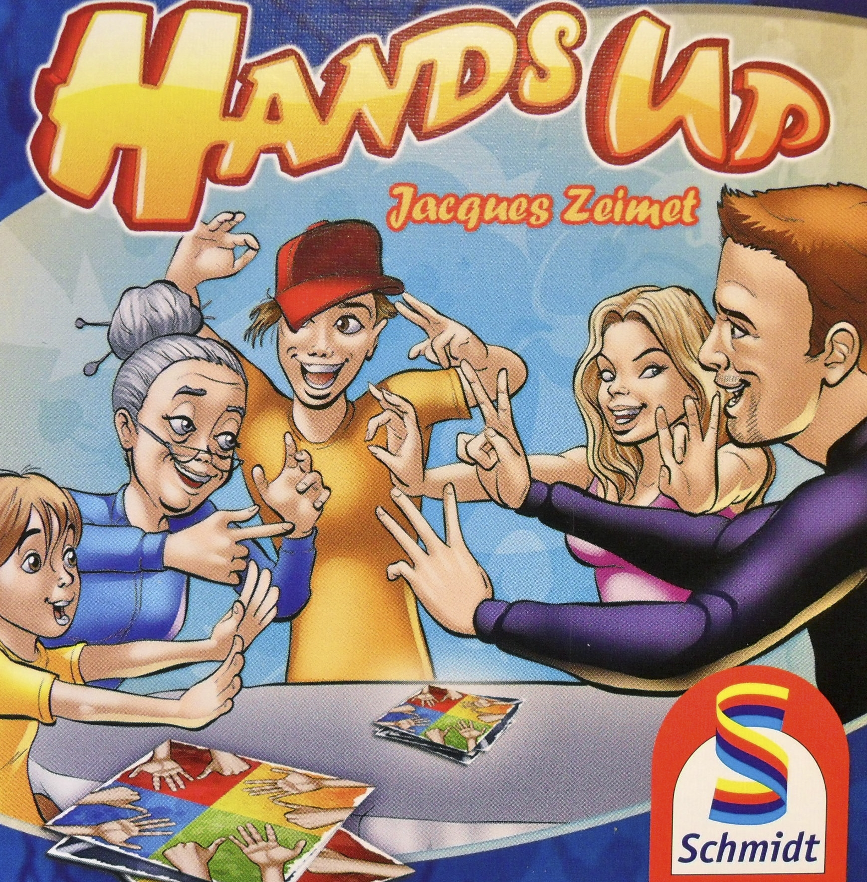 Hands Up Spiel